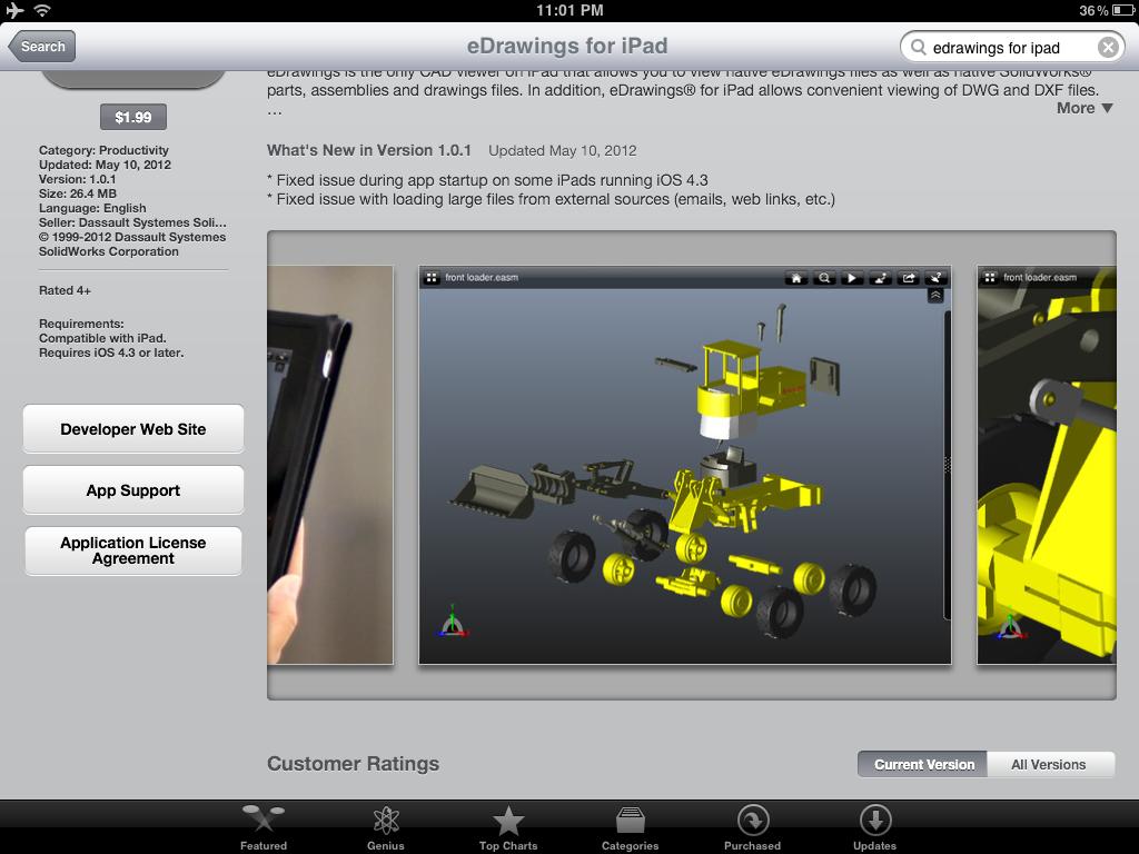 EDrawings iPad App Review