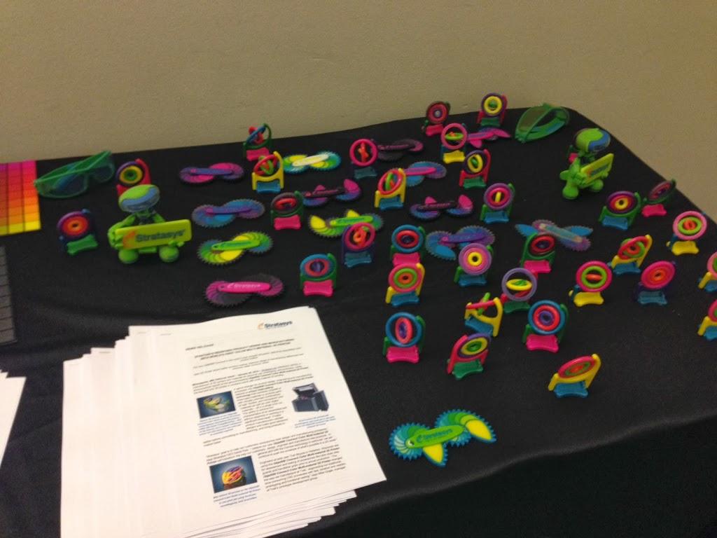 Stratasys Annonces Full Color Flexible Material 3d Printer
