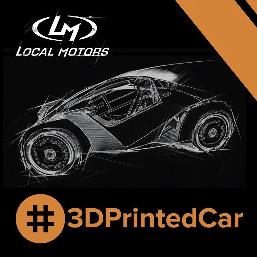 3D Printed Vehicles