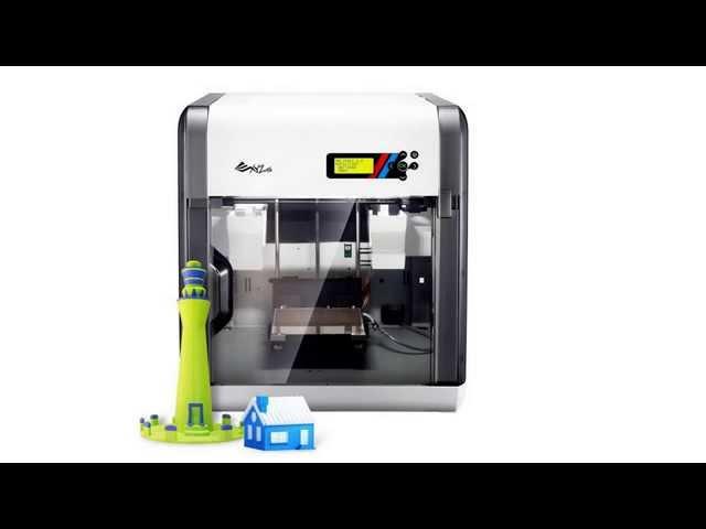 Video about the XYZprinting Da Vinci 2 0 Duo 3D Printer - 3D Engineer