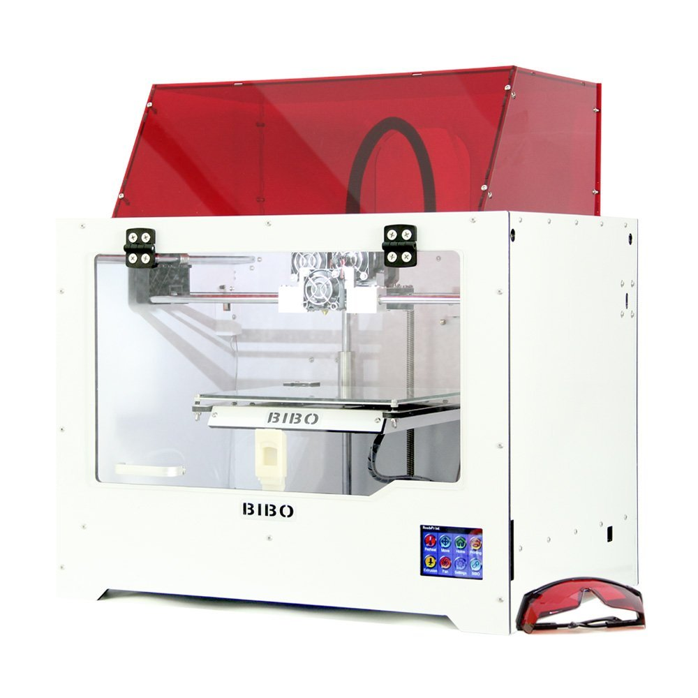 BIBO Touch Laser X 3D Printer & Laser Engraver Review - 3D