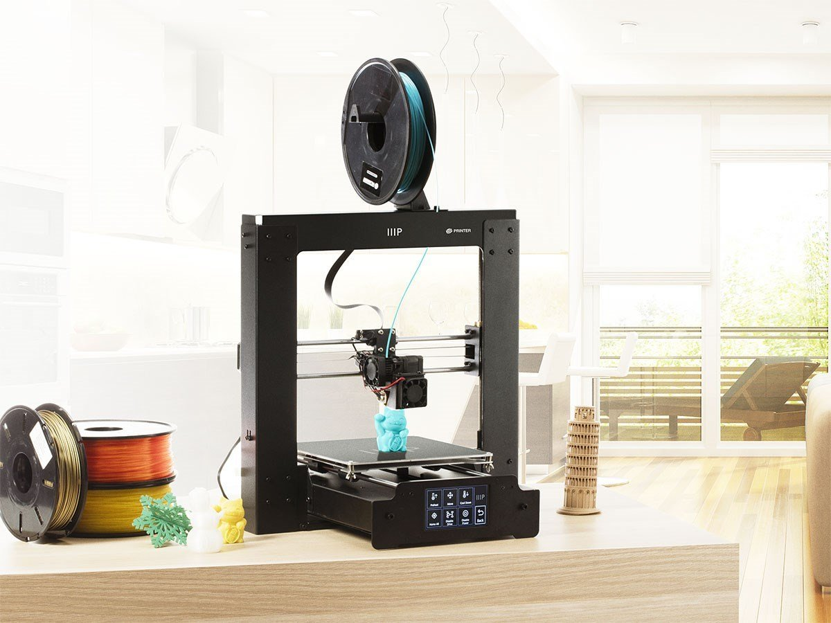monoprice maker select plus 3d printer review 3d engineer. Black Bedroom Furniture Sets. Home Design Ideas