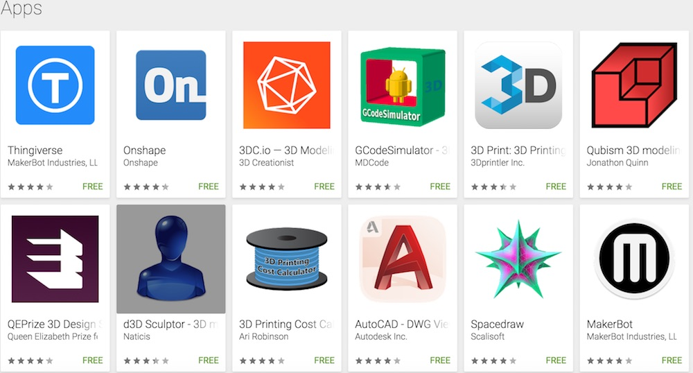 The Top Android Apps For 3D Printing