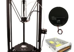 Anycubic Linear Plus Delta Rostock 3D Printer Kit